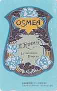 Télécarte Japon / 110-011 - PARFUM - OSMEA * RIMMEL / LONDON PARIS FRANCE - PERFUME Japan Phonecard - PARFÜM - 247 - Parfum