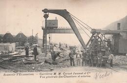 Ecaussines 1904 Carrieres M.M. Cornet Jaumot Er Cie - Ecaussinnes