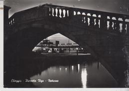 Chioggia Venezia Piazzetta Vigo Notturno Night 1959  Vg - Chioggia