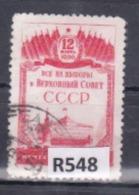 """URSS 1950: Francobollo Usato Da 1r. Della Serie """"Elezioni Al Soviet Supremo"""". - 1923-1991 URSS"""