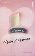 Rare Télécarte Parfumée Japon / 110-011 - PARFUM -  * SHISEIDO VIVACE * PERFUME Perfumed Japan Phonecard - 254 - Parfum