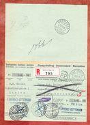 Einzugs-Auftrag, PP, Einschreiben Reco, Ungueltig, Stempel Von Guettingen, Zuerich Fraumuenster Geldpost, 1938 (45635) - Lettres & Documents