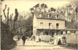 Ste MARGUERITE Sur MER (2 Scans) Route De Quiberville (Le Balcon Pas Encore Fleuri) - Coll. Leroux - Animation - France