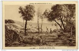 Springfield Museum .  J.B. Corot .  Environs De Naples . Napoli . - Springfield – Illinois