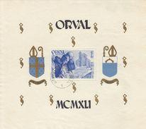 BELGIQUE Belgie Belgio Belgien - 1941 - Orval - Foglietto Dentellato Yvert BF11 - Nuovo E Perfetto. MNH - Panes