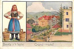 E-16-3332 : KUPELE TRENCIANSKE TEPLICE BAD  DIEVCA Z TR TEPLEJ GRAND-HOTEL - Slovaquie