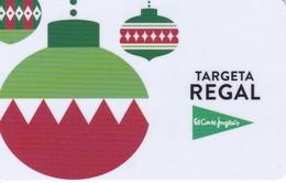 TARJETA DE ESPAÑA DE EL CORTE INGLES DE NAVIDAD EN CATALAN  (GIFTCARD) CHRISTMAS - Zonder Classificatie