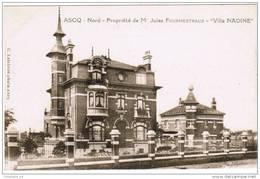 CPA Ascq Nord Propriété De Mr Jules Fourmestraux Villa Nadine (pk3823) - Villeneuve D'Ascq