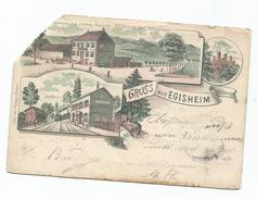 Gruss Aus Eguisheim - Frankrijk