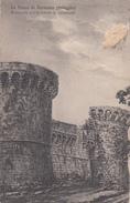 LA ROCCA SARTEANO-ACQUARELLO DELL'ARCHITETTO G.CORADESCHI-VIAGGIATA 30/12/1918-ORIGINALE AL 100%- - Siena