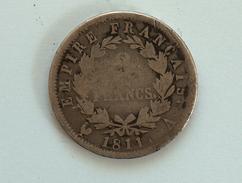 FRANCE 2 Francs 1811 A  - Silver, Argent Franc - France