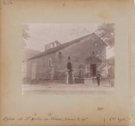 N° 456 - 2 Photos - Eglise De St-Martin-en-Vercors - Drôme - Alt 760 M. - Octobre 1903 - Lieux