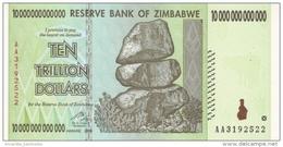 ZIMBABWE 10 TRILLION DOLLARS 2008 (2009) P-88 UNC  [ZW179a] - Zimbabwe