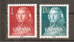 España/Spain-(MNH/**) - Edifil  1328-29 - Yvert 1005-06 (óxido) - 1931-Hoy: 2ª República - ... Juan Carlos I