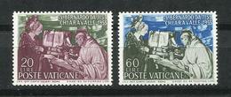 Vaticano. 1953_8º Centenario De La Muerte De San Bernard - Vaticano (Ciudad Del)
