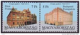 CEPT / Europa 1990 Hongrie ** N° 3312 Et 3313 Etablissements Postaux (en Paire Bdf) - 1990