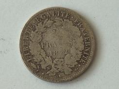 FRANCE 2 Francs 1872 K  - Silver, Argent Franc - France