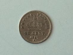 FRANCE 20 Centimes 1867 BB  - Silver, Argent Cent Centime - E. 20 Centimes