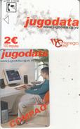 MONTENEGRO - Jugodata/Compaq, 06/03, Sample(no Chip, No CN)