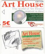 MONTENEGRO - Art House, Tirage 50000, 06/03, Sample(no Chip, No CN) - Montenegro