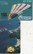 MONTENEGRO - Pilot Pens, SUN Ice Cream, Tirage 50000, 06/01, Sample(no CN)