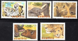 Namibia - 2015 Baby Big Five Set (**) - Timbres