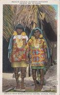 Panama San Blas Indian Women In Native Costume - Panama