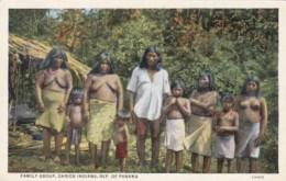 Panama Darien Indian Family Group Nude Topless - Panama
