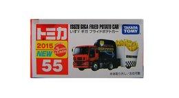 Isuzu Giga Fried Potato Car  ( Tomica ) - Unclassified