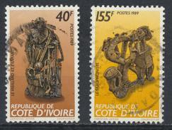 °°° COTE D´IVOIRE COSTA D´AVORIO - Y&T N°825/26 - 1989 °°° - Costa D'Avorio (1960-...)