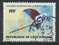 °°° COTE D´IVOIRE COSTA D´AVORIO - Y&T N°835 - 1989 °°° - Costa D'Avorio (1960-...)