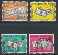 °°° COTE D'IVOIRE - Y&T N°842/50/51/52 - 1990 °°° - Costa D'Avorio (1960-...)