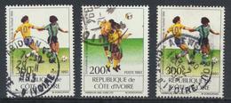 °°° COSTA D´AVORIO COTE D´IVOIRE - Y&T N°914/15 - 1993 °°° - Costa D'Avorio (1960-...)