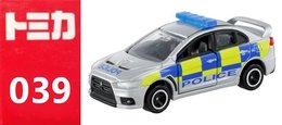 Mitsubishi Lancer Evolution X British Police  ( Tomica ) - Cars & 4-wheels