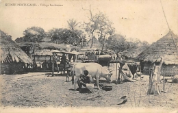GUINEE PORTUGAISE  VILLAGE FOULACOUN - Guinea-Bissau