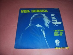 NEIL SEDAKA   °° OUR LAST SONG TOGETHER - Collections Complètes