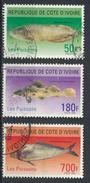 °°° COTE D'IVOIRE - Y&T N°962/64 - 1996 °°° - Costa D'Avorio (1960-...)