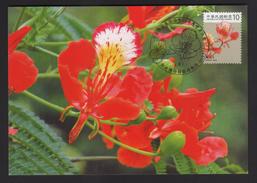 R.O.China/Taiwan (Formosa)- Maximum Card –Delonix Regia - 1945-... Repubblica Di Cina