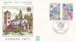 Andorra 1977 FDC Europa CEPT (T2-20) - Europa-CEPT