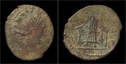 Barbaric Antoninianus Of Tetricus - 5. L'Anarchie Militaire (235 à 284)