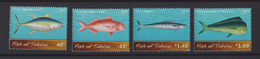Tokelau Mi 428-431 Fish Of Tokelau - Kakahi (Thunnus Albacares) - Palu Malau (Etelis Carbunculus) - Paala (Acanthocybium - Tokelau