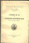 Archeologie OPPIDUM VIX CIVILISATION HALLSTATTIENNE JOFFROY Côte D'Or Châtillon-sur-Seine Celtes Celte Celtique Gaulois - Storia
