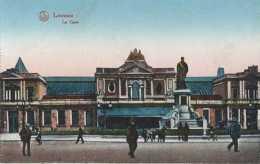 Leuven - Louvain - Het Station - La Gare - Pas Circulé - Animée - TBE - Leuven