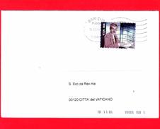ITALIA ~ Storia Postale ~ Busta Del 2016 ~ (2016 - 50 Anni Della Morte Di Elio Vittorini - Ritratto - 0,95 € ) - Is - 6. 1946-.. Repubblica