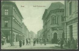 Romania - ARAD - Deïk Ferencz-utca. Postally Used Postcard. - Romania