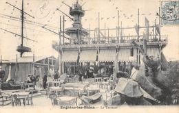 CPA 95 ENGHIEN LES BAINS LA TERRASSE 1905 - Enghien Les Bains
