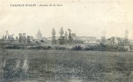Valence D'Albigeois - Avenue De La Gare - Valence D'Albigeois