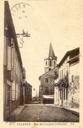 Valence -  Rue Du Couvent Et Clocher - Valence D'Albigeois