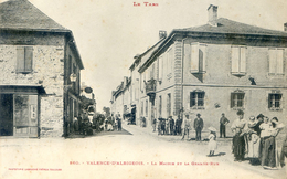 Valence D'Albigeois - La Mairie Et La Grande Rue - Valence D'Albigeois