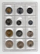 """F.A.O. - 1945/1995 - Lotto 12 Monete - """"Raccolta Numismatica Internazionale - Pane Per Tutti """" Con Schede - Vedi Foto - Monete"""
